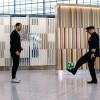 أسطورة كرة القدم ريو فيرديناند يقابل بترحيب واسع في دبي