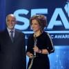 جائزة woman Empowerment في حفل Social Economic Award 2017  تؤكد التأثيرالإيجابي لمديرة الوكالة الوطنية للإعلام في المجال الإعلامي